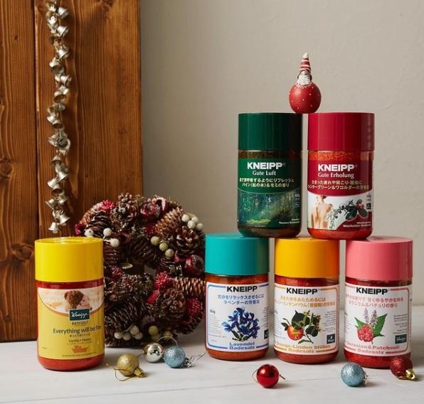 【クナイプバスソルト】今日のご褒美に好きな香りはどれがいい?