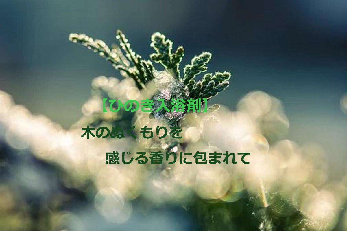 【ひのき入浴剤おすすめ7選】木のぬくもりを感じる香りに包まれて